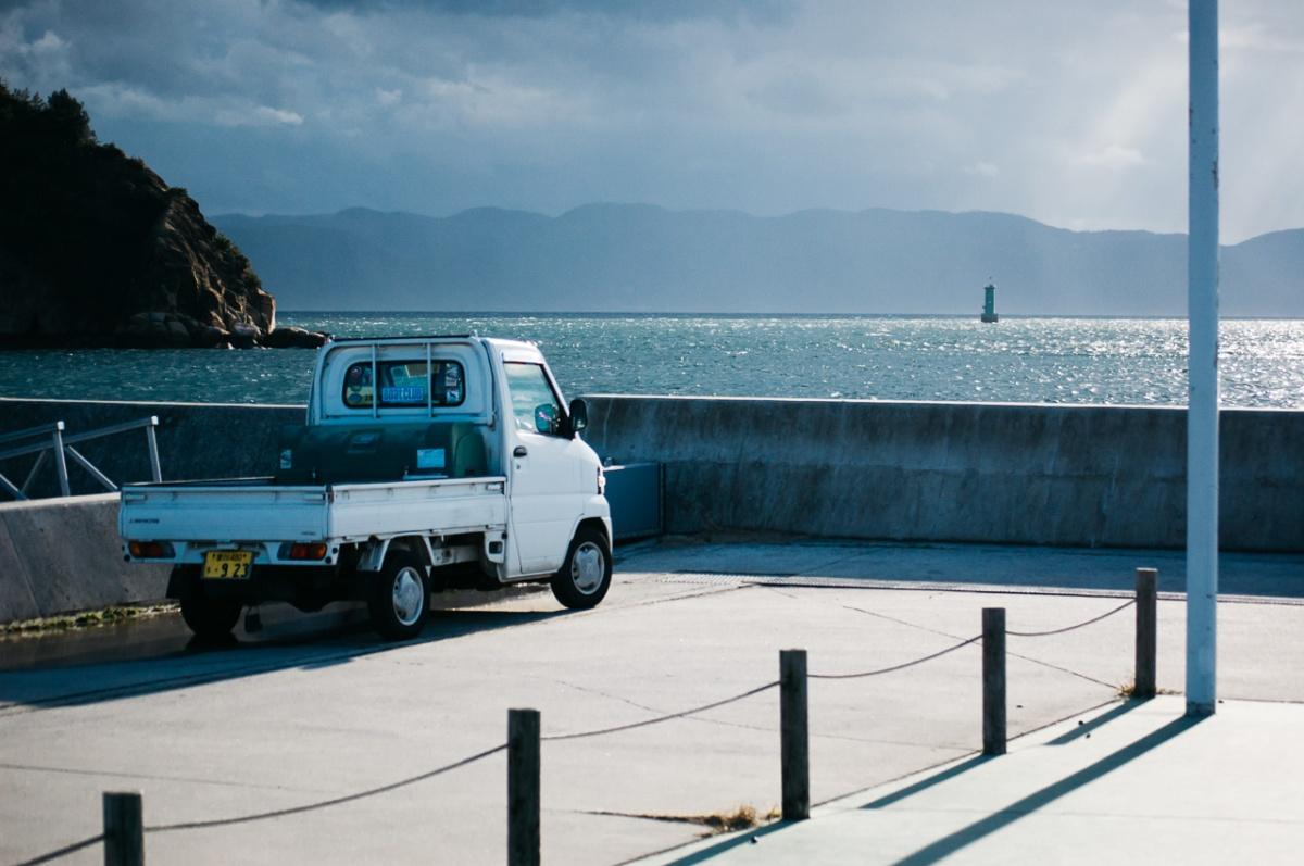 The edge of the island — Naoshima